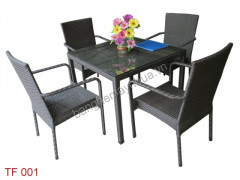 Bàn ghế cafe TF 001