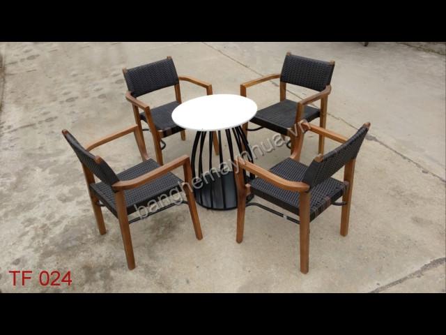 Bàn ghế  cafe TF 024