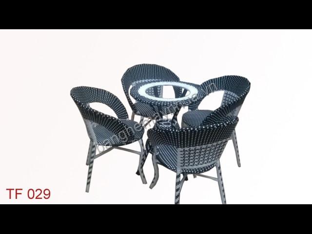 Bàn ghế cafe TF 029