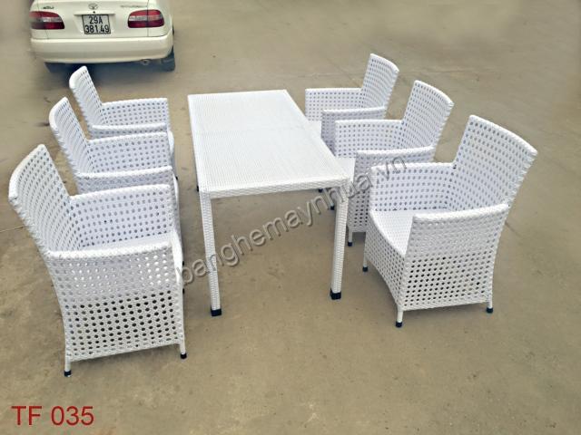 Bàn ghế  cafe TF035