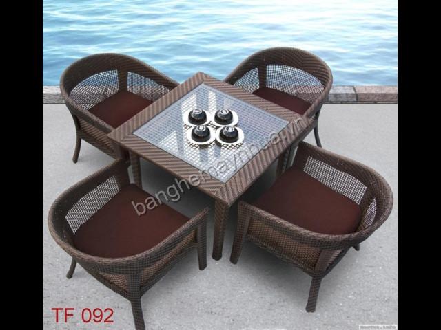 Bàn ghế  cafe TF 092