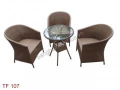 Bàn ghế cafe TF 107