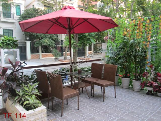 Bàn ghế cafe TF 114
