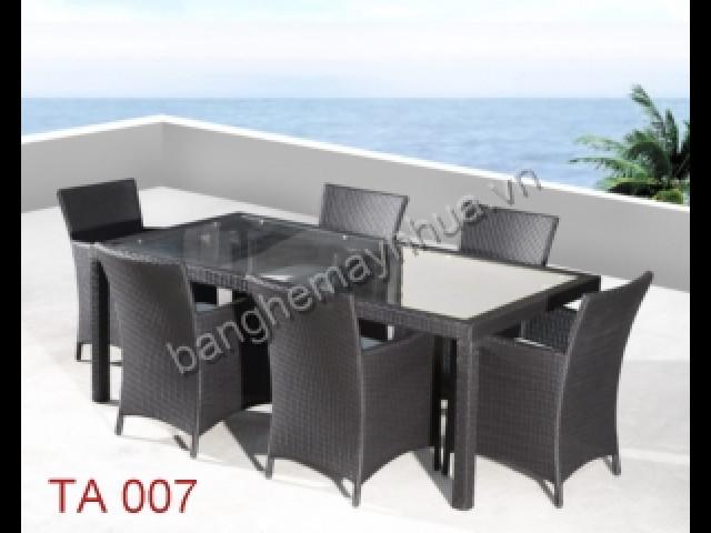 Ghế ăn ngoài trời TA 007