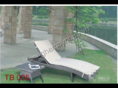 Giường bể bơi mây nhựa TB 005