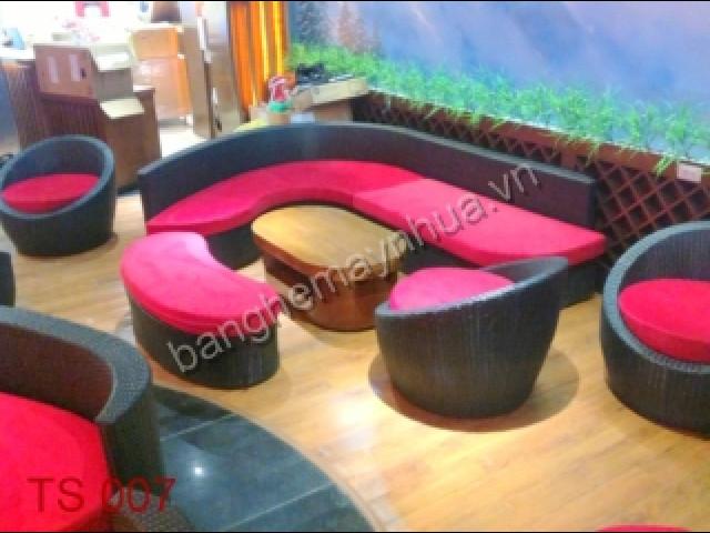 Bàn Ghế Sofa TS 007