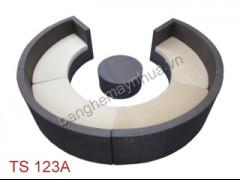 Sofa cong mây nhựa TS 123