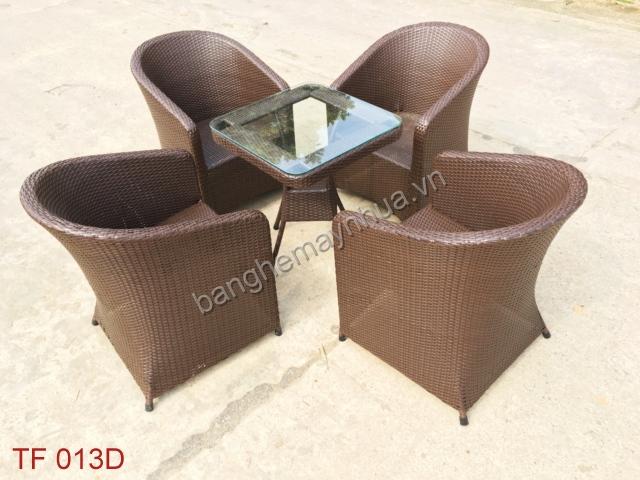 Bàn ghế cafe TF 013