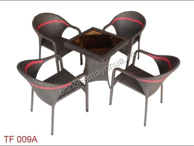 Bàn Ghế Cafe TF 009