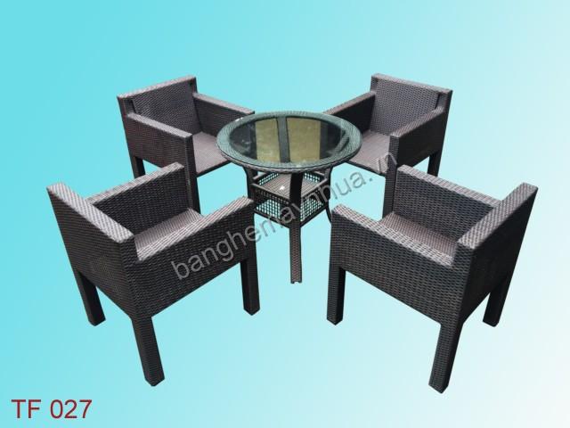 Bàn ghế  cafe TF 027