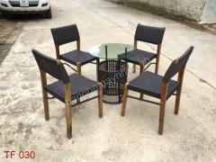 Bàn ghế  cafe TF 030
