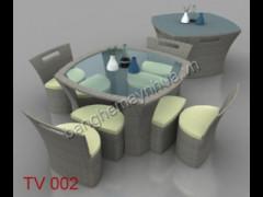 Bàn Ghế Sân Vườn TV 002