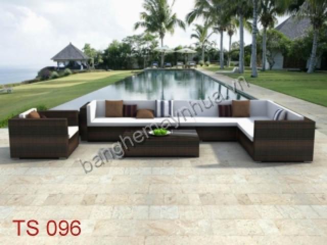 Sofa ngoài trời TS 096