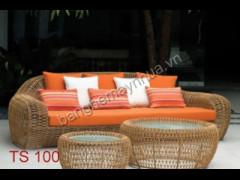 Bàn ghế sofa ngoài trời TS 100
