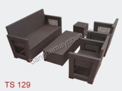Sofa mây nhựa TS 129
