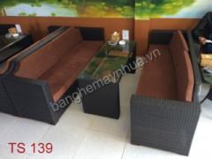 Sofa mây nhựa TS 139