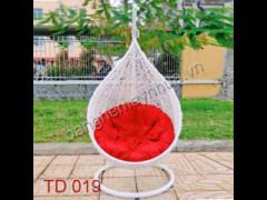 Xích Đu Mây Nhựa TD 019